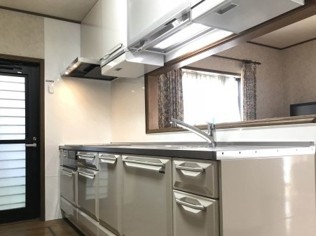 東京都品川区でキッチンリフォーム:完工 [after]